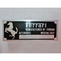 フェラーリ コンペティション シャーシプレート 6.6cm