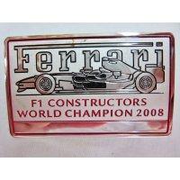 2008コンストラクチャーズチャンピオン 記念インテリアバッジ 5cm