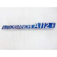 アウトビアンキ A112E エンブレム 24cm