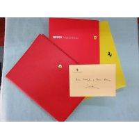 2001年 スケードーニ製アジェンダ(ダイアリー) ルカ・モンテゼローモがクリスマスに友人にプレゼントした物で直筆サイン付 縦26.3 横20.3 厚さ2.5