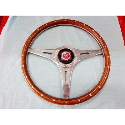 画像1: イタリア製 小径ウッド&リベット 33cm