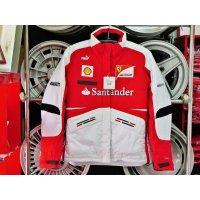 スクーデリアフェラーリF1 チームスタッフ用レディース中綿入りジャンパー SML Lは身長170以上男性でも可