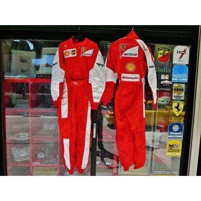 画像1: 2016 フェラーリF1 メカニックスーツ(新古 美品) サイズ/50(Mより少し大) 最近の薄手の100%ノーメックス製