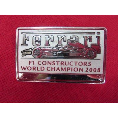 画像1: フェラーリ純正 インテリアプレート 5×3cm