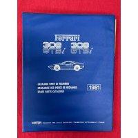 フェラーリ 308GTB/GTS パーツマニュアル