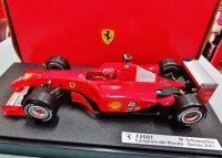 フェラーリF1 2001 シューマッハが関係者のクリスマスプレゼント用に用意したモデルです(サイン無し)
