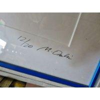 A110 額装 作者サイン部分