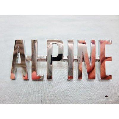 画像1: アルピーヌ エンブレム