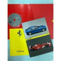 フェラーリF1 2004 プレスキット CD付き
