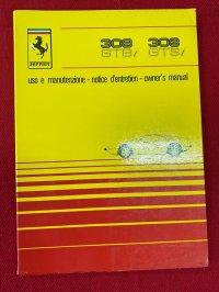 フェラーリ308GTB/i  オーナーズマニュアル 81