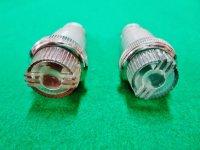 コクピット ランプ 赤&緑 2種類あり 内径1.8cm 端子1個