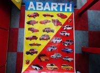 アバルト ポスター 92×14