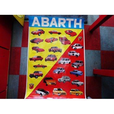 画像1: アバルト ポスター 92×14
