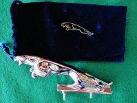 旧ジャガー ボンネットマスコット 13cm