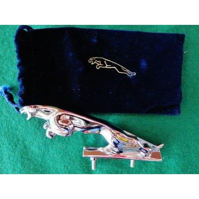 画像1: 旧ジャガー ボンネットマスコット 13cm